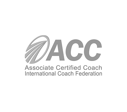 ICF - International Coach Federation. ACC - Associate Certified Coach. Logo, Credential, EXPLORE-TRUTH.